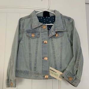 Brand new with tags 4T jean jacket